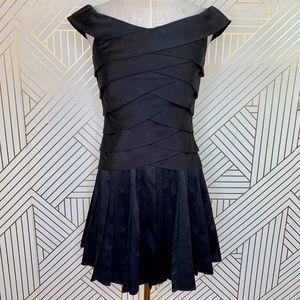 Ted Baker London Erta Off the Shoulder Dress Black